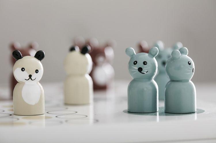 Kids Concept - Edvin Gra Planszowa Chińczyk