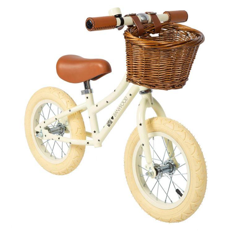 Banwood - FIRST GO! Rowerek Biegowy Bonton Cream