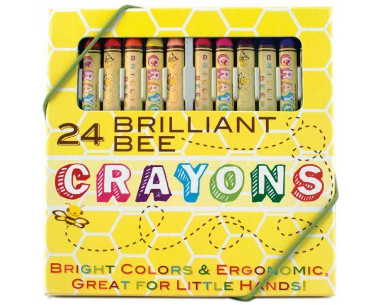 Ooly - Świecowe Kredki Genialna Pszczółka 3+