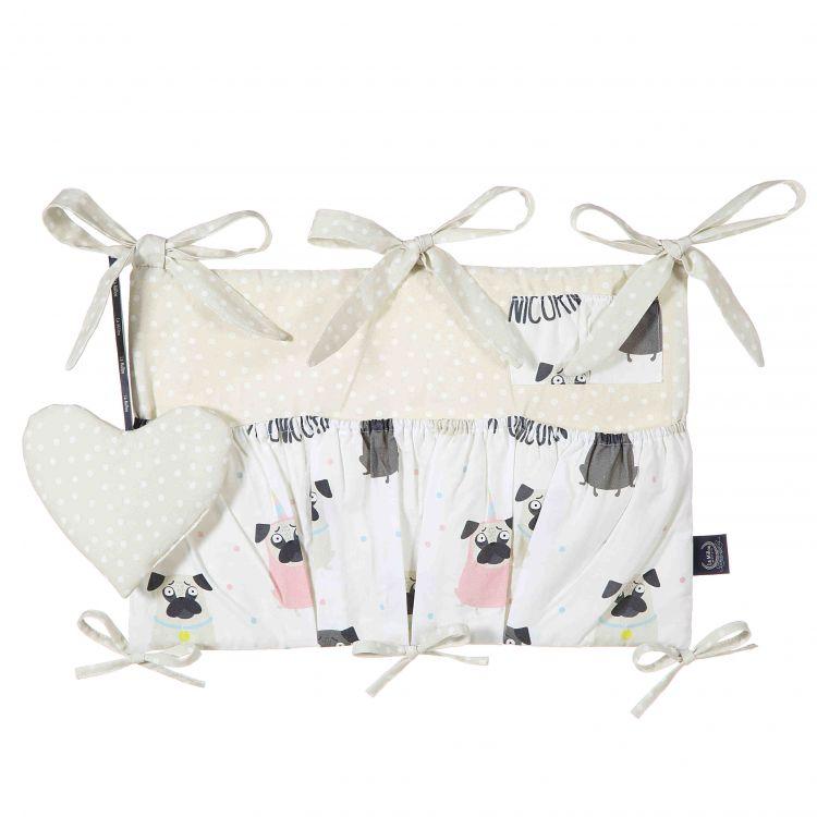 La Millou - Organizer do Łóżeczka Doggy Unicorn & Doggy Unicorn Dots