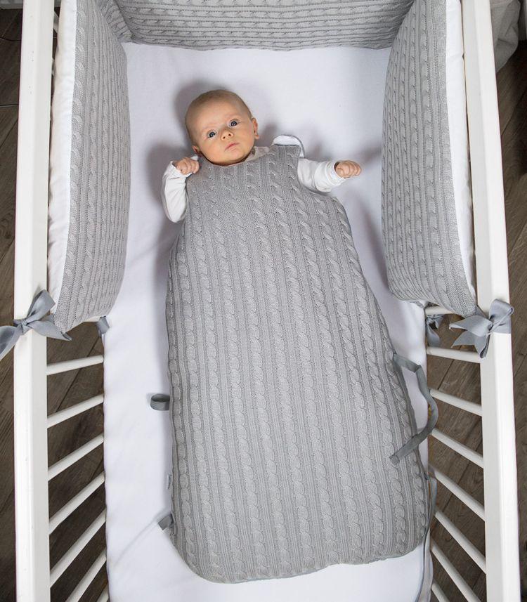 Muzpony -  Śpiworek Niemowlęcy Malmo Jesienno-zimowy 80cm
