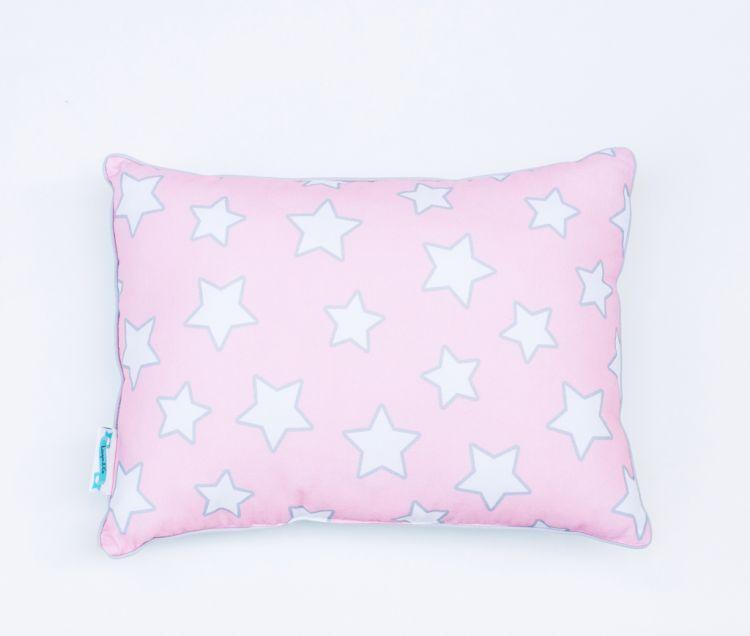 Lamps&co. - Poduszka Dwustronna Pink Star 35x35cm