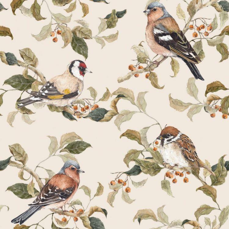 Dekornik - Tapeta Birds Autumn