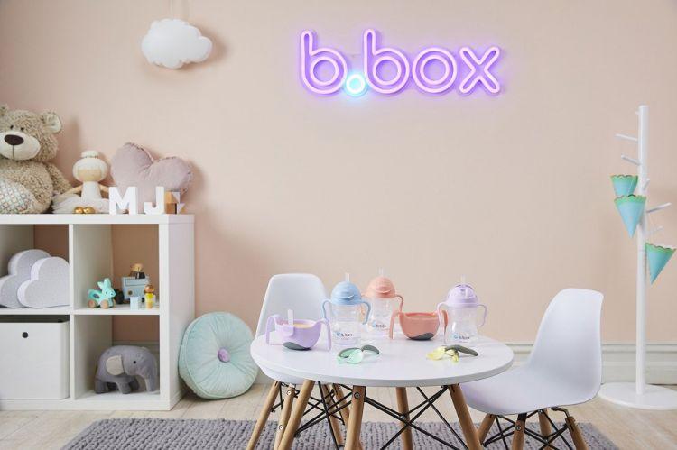 B. Box - Innowacyjny Bidon ze Słomką Gelato Bubblegum