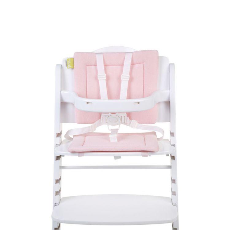 Childhome - Ochraniacz-Poduszka do Krzesełka Frotte Różowy