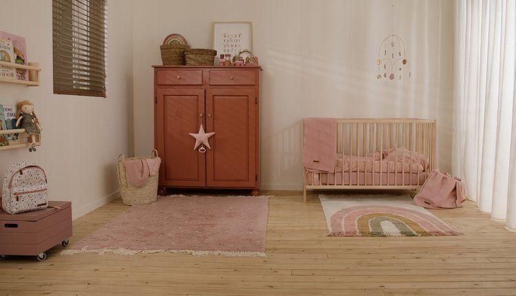 Little Dutch - Pozytywka Gwiazdka Wild Flowers Pink