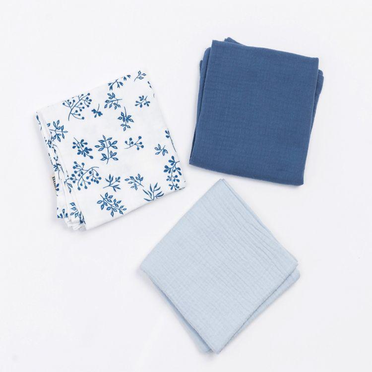 Bim Bla - Pieluszki 3-pack Blue Meadow
