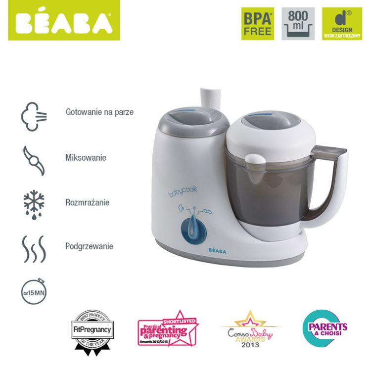 Beaba - Babycook Original Grey/Blue