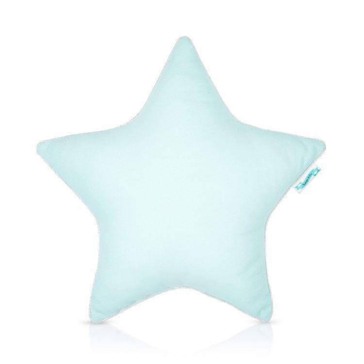 Lamps&co. - Poduszka Ozdobna Classic Mint Star 40x40cm