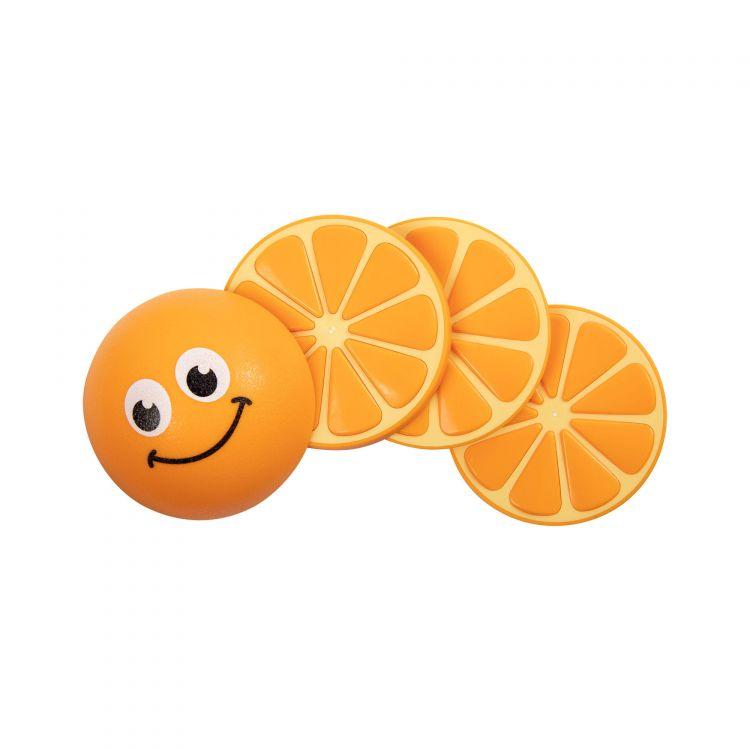 Fat Brain Toys - Przyjacielskie Owoce 3 Zabawki Manipulacyjne