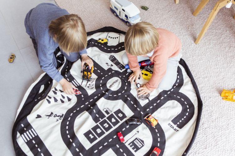Play & Go - Worek na Klocki Mapa Drogowa