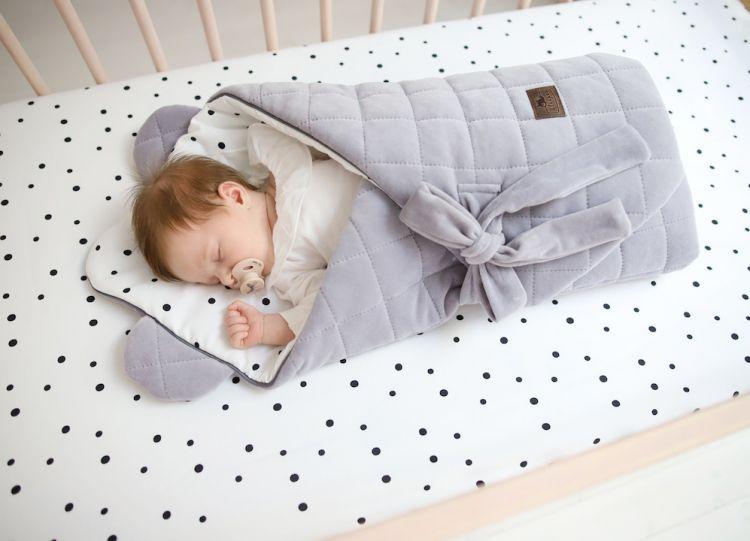 Sleepee - Rożek Niemowlęcy Royal Baby Ocean Mint