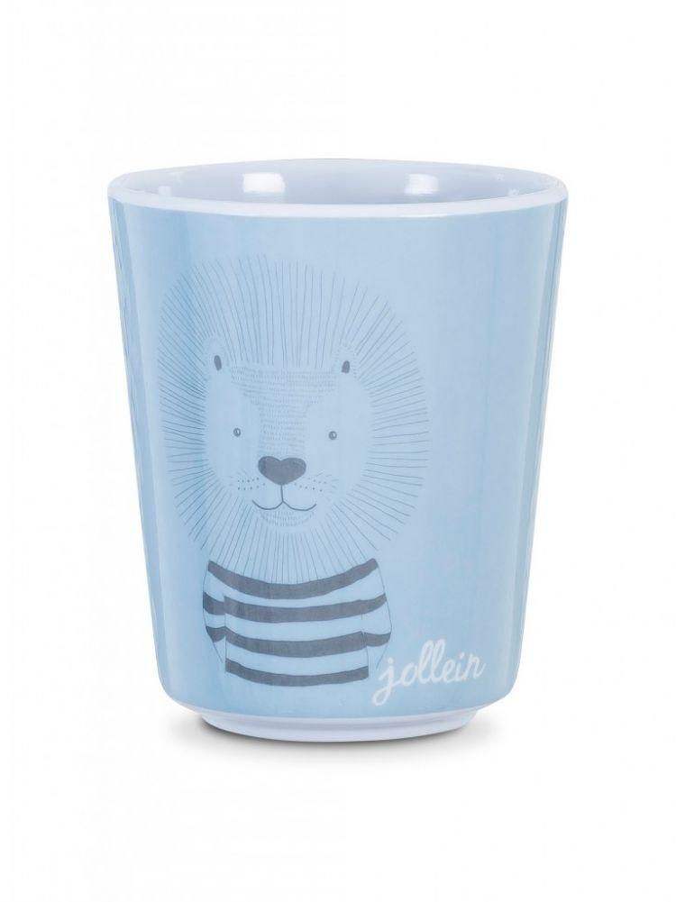 Jollein - Kubeczek Wild Animals Błękitny