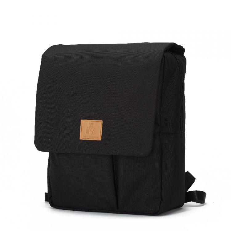 My Bag's - Plecak Reflap dla Mam Eco Black/Red