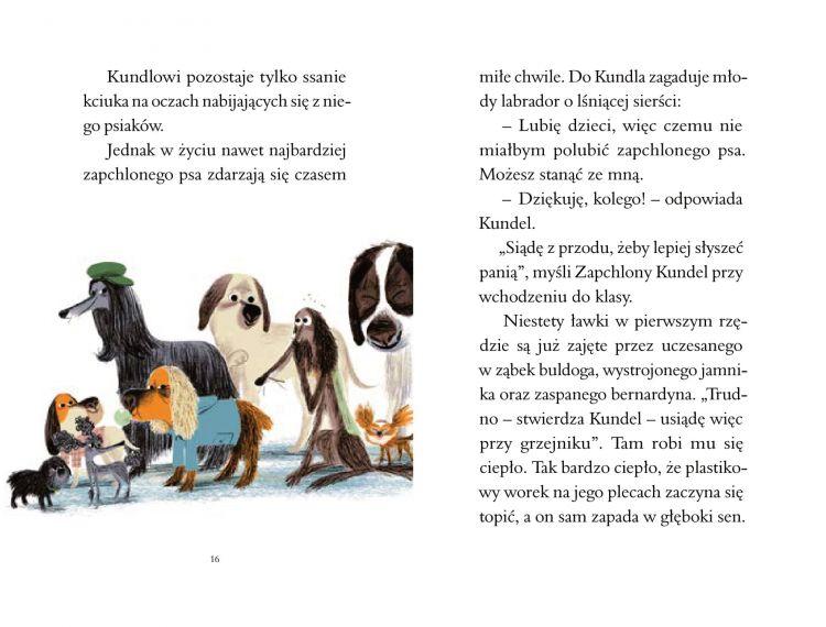 Wydawnictwo Wytwórnia - Zapchlony Kundel w szkole