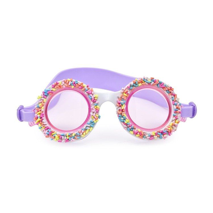 Bling2O - Okulary do Pływania Posypka Cukrowa Fioletowe 6+