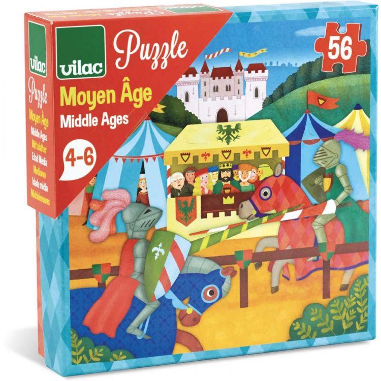 Vilac - Puzzle dla Dzieci Średniowiecze 56 el.