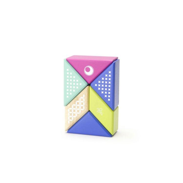 Tegu - Drewniane Klocki Magnetyczne Travel Pals Koliber 1+