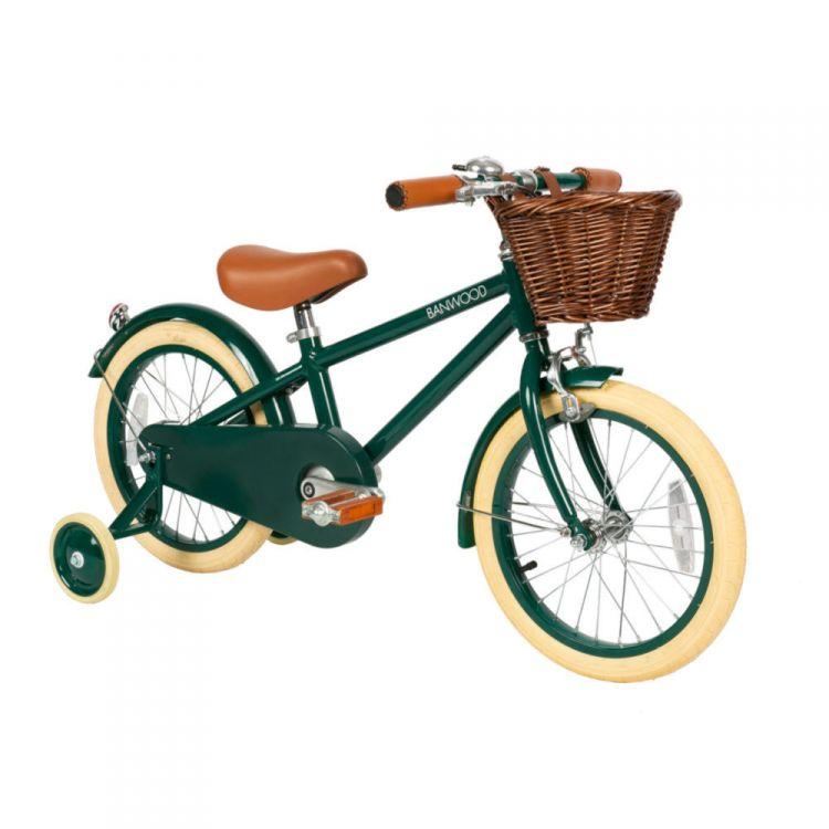Banwood - Classic Rowerek Dark Green 4+