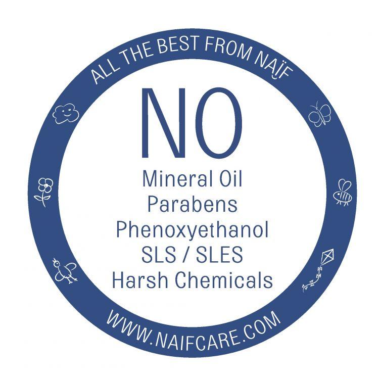 Naif - Pieluszkowy Krem – Krem Przeciw Odparzeniom 100% Naturalny, 75 ml
