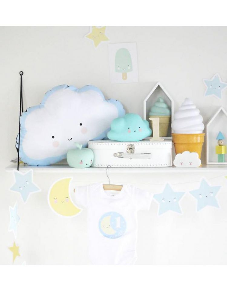 Little Lovely Company - Girlanda Moon & Star