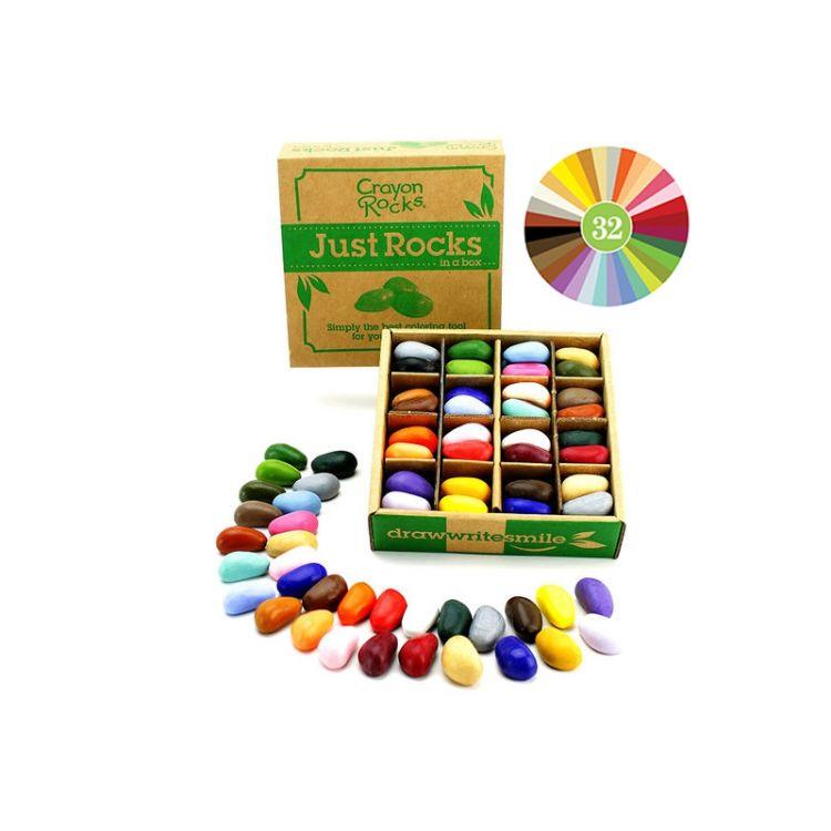 Crayon Rocks - Kredki 64 sztuki, 32 Kolory