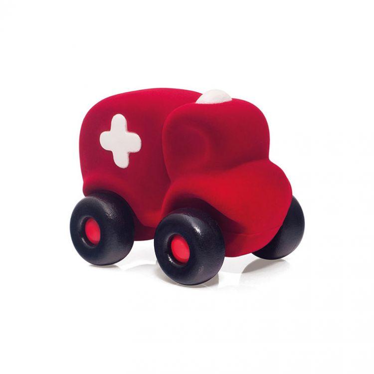 Rubbabu - Karetka Sensoryczna Czerwona Duża