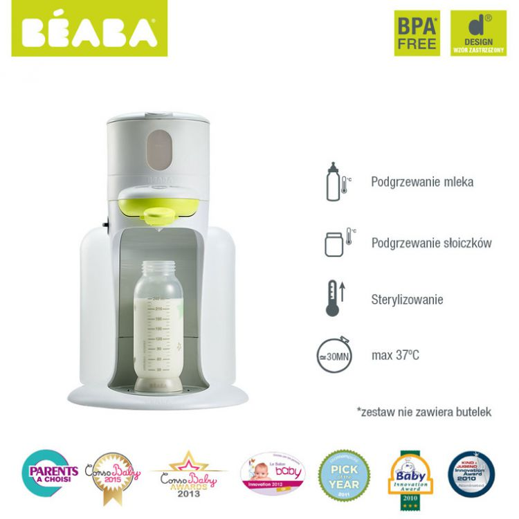 Beaba - Bib Expresso do Mleka Neon