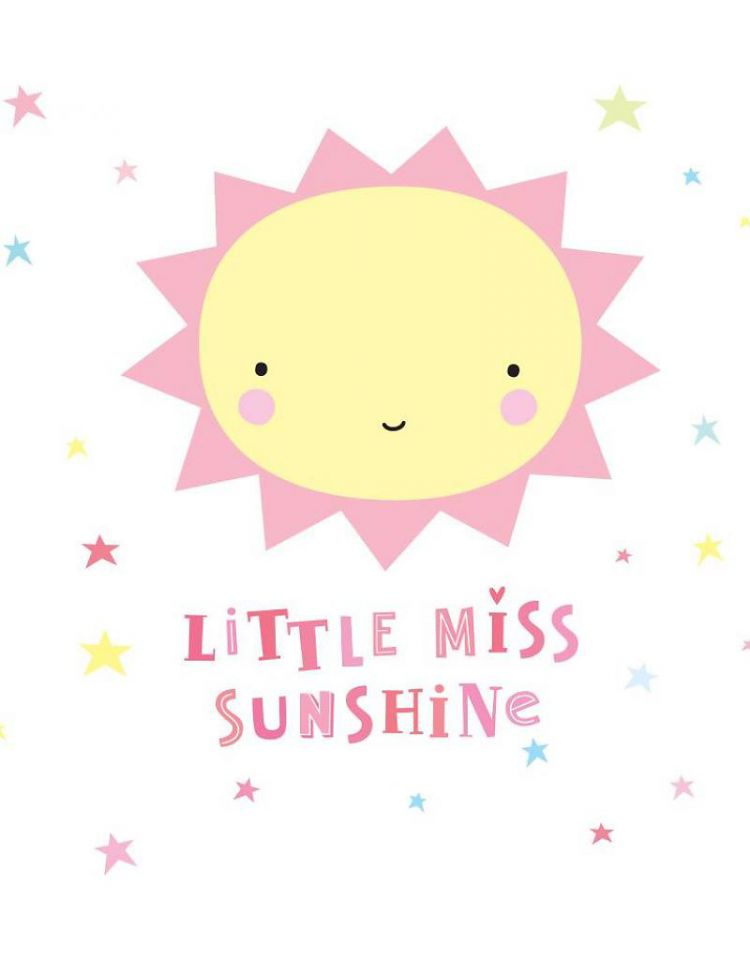 A Little Lovely Company - Naklejki Ścienne Miss Sunshine