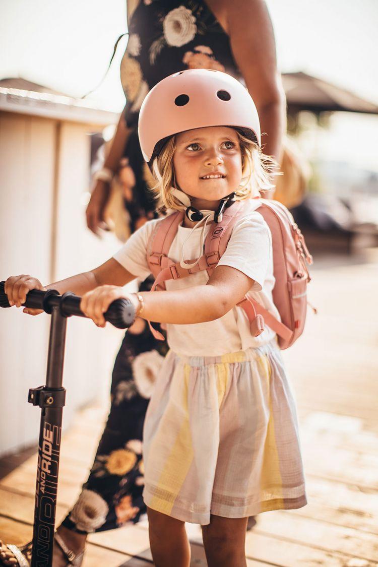 Scootandride - Plecak na hulajnogę dla dzieci 1-5 lat Peach