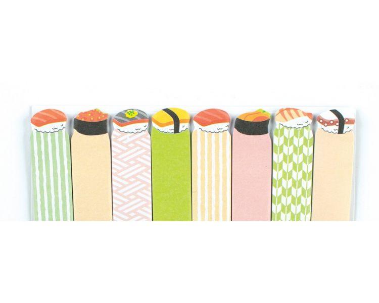 Ooly - Karteczki Samoprzylepne Sushi 120szt