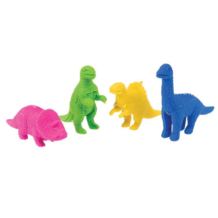 Rex - Zestaw Gumek do Ścierania Dinosaur