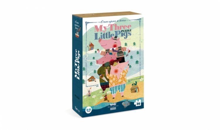 Londji - Puzzle My 3 Little Pigs