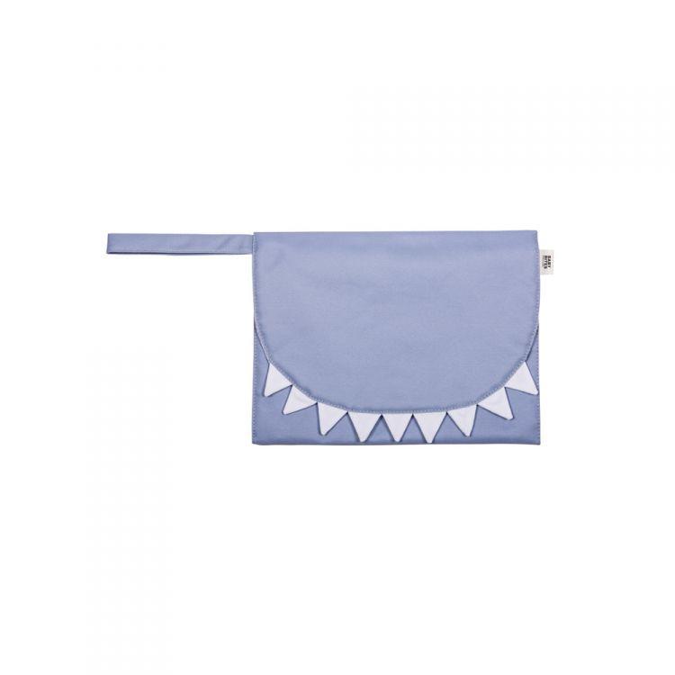 Baby Bites - Przewijak Podróżny Shark Slate Blue
