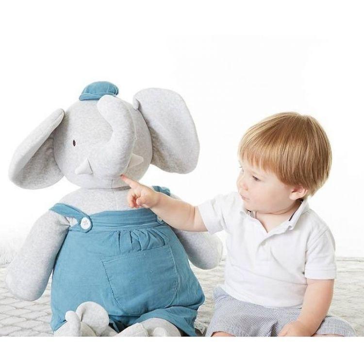 Meiya & Alvin - Przytulanka Alvin Elephant Cuddly Doll XXXL 0m+