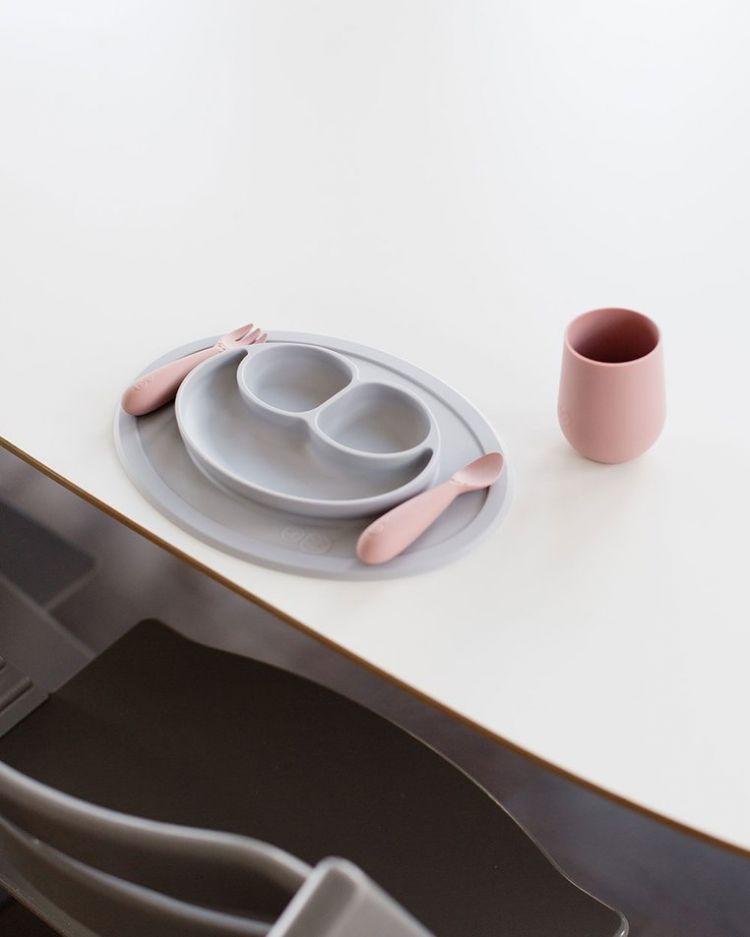EZPZ - Silikonowy Kubeczek Mini Cup 120ml Pastelowy Róż