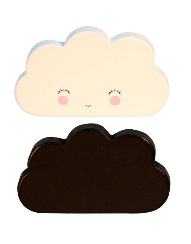 Little Lovely Company - Klocki Ozdobne Clouds