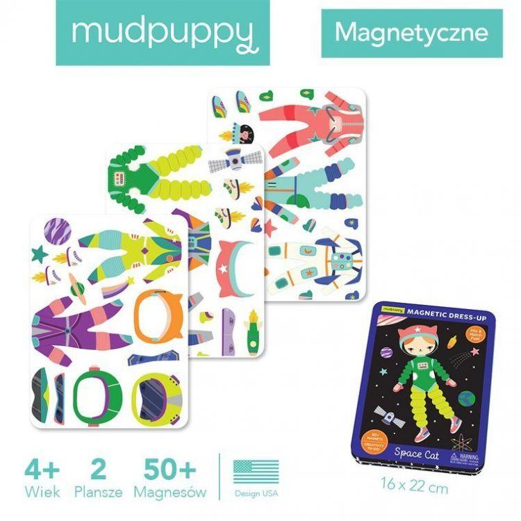 Mudpuppy - Magnetyczne Konstrukcje Kosmiczny Kot 4+