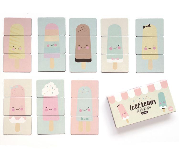Eef Lillemor - Gra Mix&Match Ice Cream