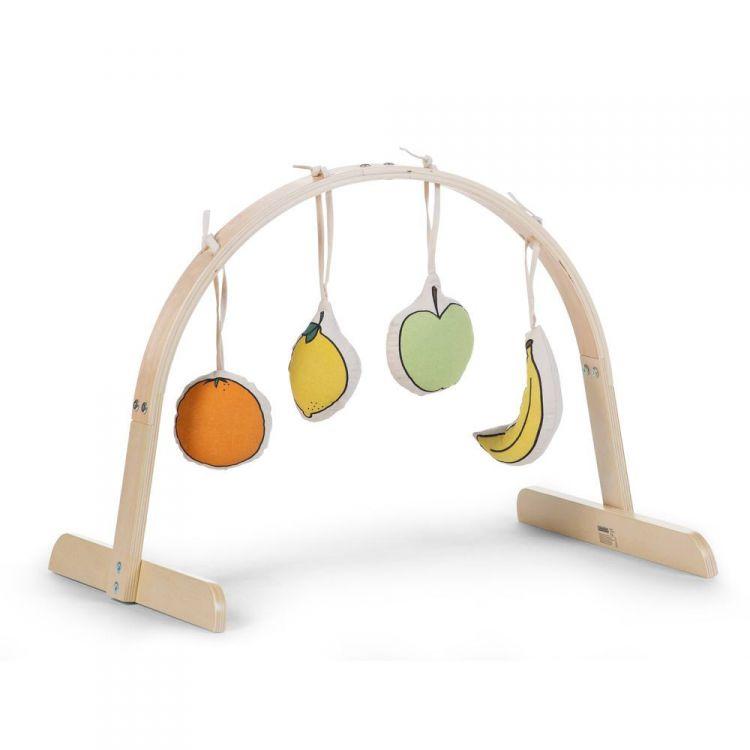 Childhome - Zestaw zabawek 4 szt. Canvas do Tipi Play Gym