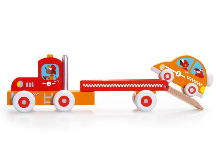 Scratch - Auto z Przyczepą