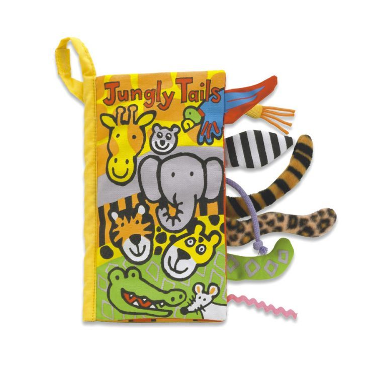 Jellycat - Miękka Książeczka Coucou Jungle