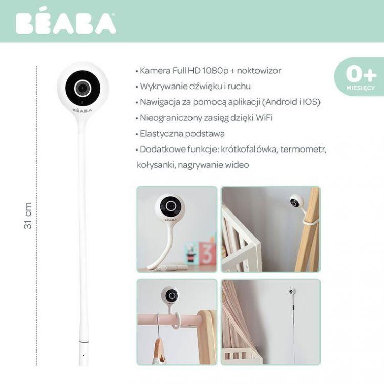 Beaba - Elektroniczna Niania Video ZEN Connect White
