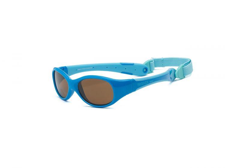 Real Kids - Okularki dla Dzieci Explorer Polarized Blue  0+