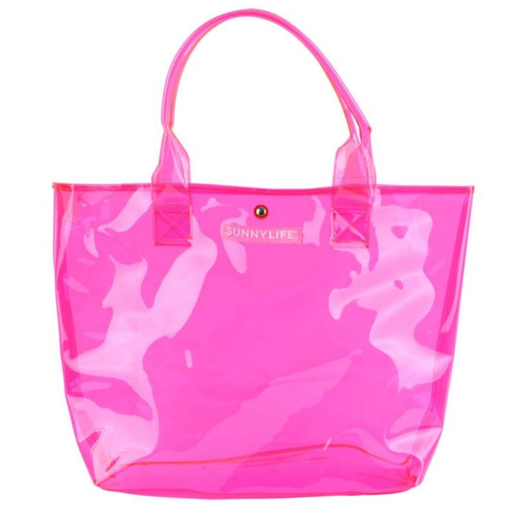 Sunnylife - Torba na Zakupy Neon Pink