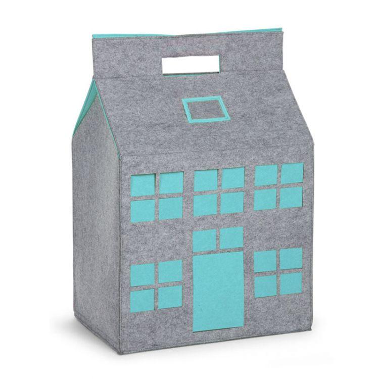 Childhome - Filcowy Domek na Zabawki Miętowy