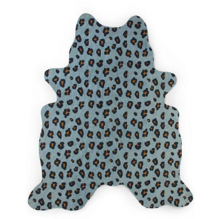 Childhome - Dywan Leopard 145x160cm Blue
