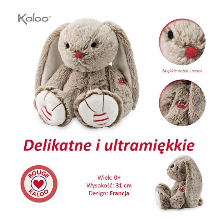 Kaloo - Przytulanka Kolekcja Rouge Królik Piaskowy Beż 31cm 0m+