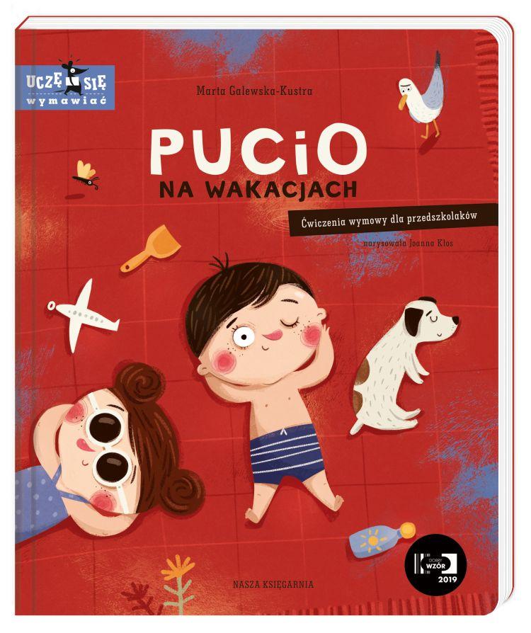 Wydawnictwo Nasza Księgarnia - Pucio na wakacjach, Ćwiczenia wymowy dla przedszkolaków