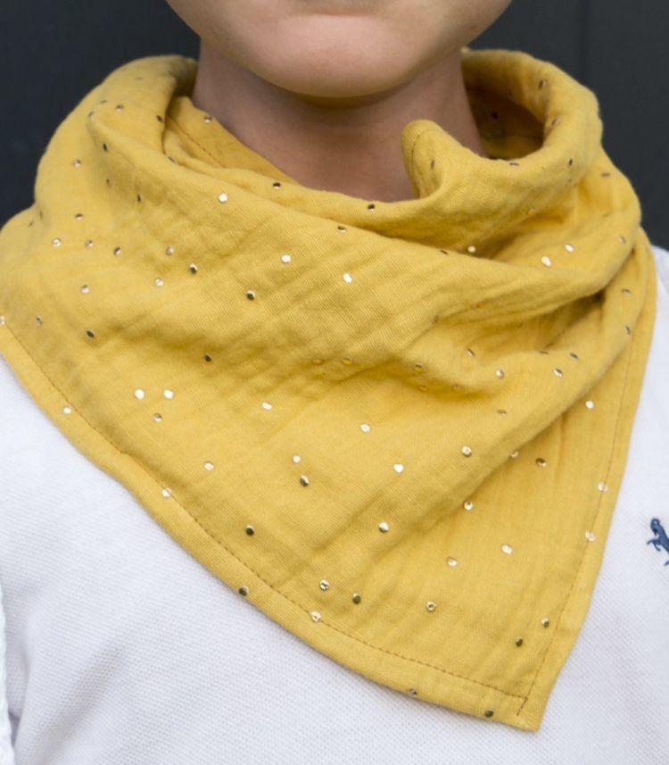 Muzpony - Muślinowa Apaszka dla Dziecka Blink Honey